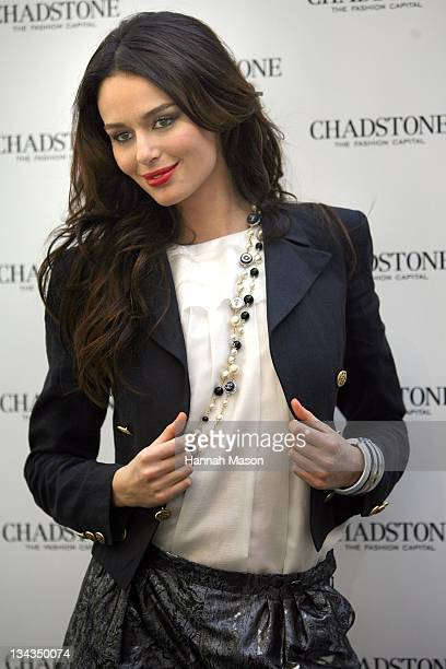 Model Nicole Trunfio poses during the official reopening of the Chadstone Shopping Centre on November 18, 2009 in Melbourne, Australia.