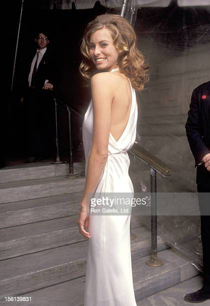 Model Niki Taylor attends the 100th Anniversary Celebration of Vogue Magazine on April 2 1992 at New York Public Library in New York City New York