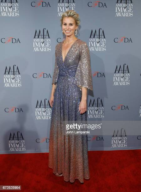 Model Niki Taylor attends the 39th annual AAFA American Image Awards at 583 Park Avenue on April 24 2017 in New York City
