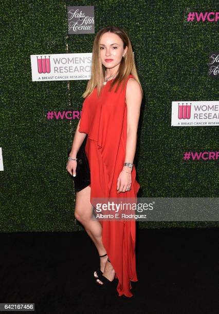 Model Nikita Kahn attends WCRF's 'An Unforgettable Evening' presented by Saks Fifth Avenue at the Beverly Wilshire Four Seasons Hotel on February 16...
