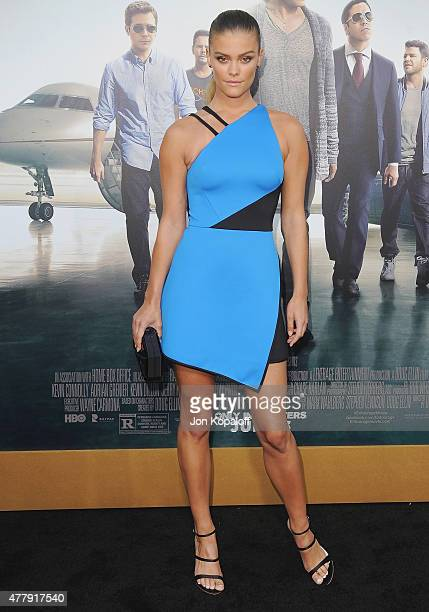 Model Nina Agdal arrives at the Los Angeles Premiere 'Entourage' at Regency Village Theatre on June 1 2015 in Westwood California
