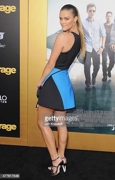 Model Nina Agdal arrives at the Los Angeles Premiere 'Entourage' at Regency Village Theatre on June 1 2015 in Westwood California