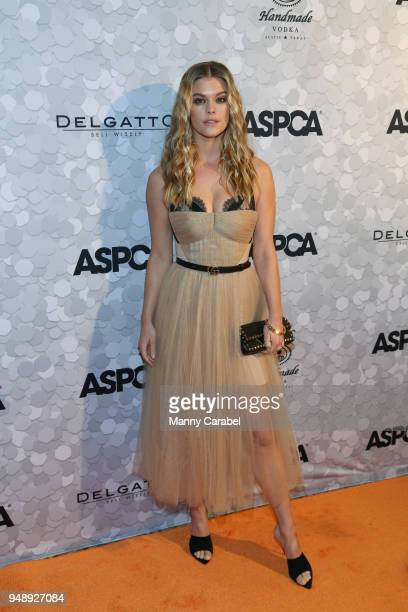 Model Nina Agdal attends the 21st Annual Bergh Ball hosted by the ASPCA at The Plaza Hotel on April 19 2018 in New York City