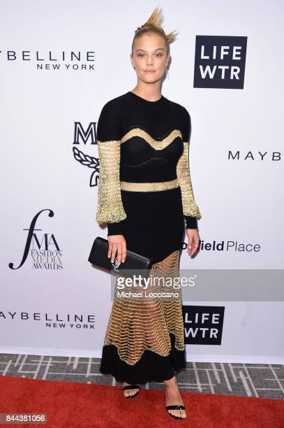 Model Nina Agdal attends the Daily Front Row's Fashion Media Awards at Four Seasons Hotel New York Downtown on September 8 2017 in New York City