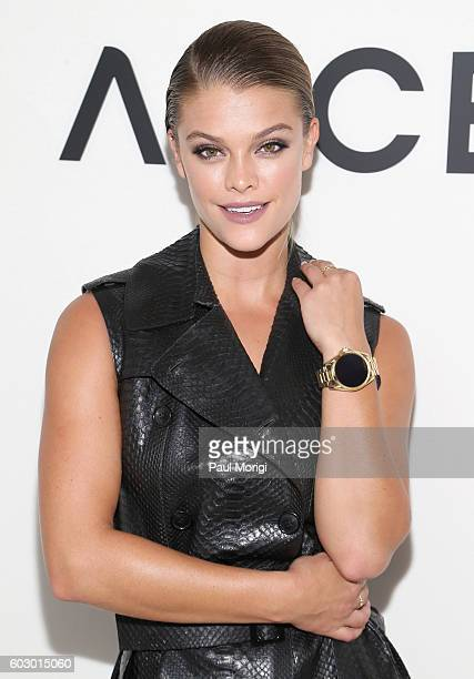 Model Nina Agdal attends the Michael Kors Access Smartwatch launch party at Michael Kors on September 11 2016 in New York City