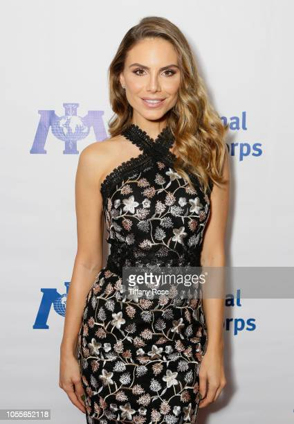 Model Nina Seni‹ar attends the International Medical Corps Annual Awards Celebration on October 30 2018 in Beverly Hills California