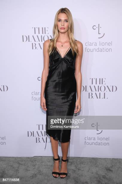 Model Noel Berry attends Rihanna's 3rd Annual Diamond Ball Benefitting The Clara Lionel Foundation at Cipriani Wall Street on September 14 2017 in...