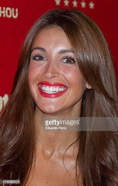 Model Noelia Lopez attends 'Manzana Mahou 330' inaguration party at Santa Barbara palace on June 10 2015 in Madrid Spain