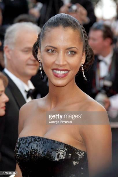 "Model Noemie Lenoir attends ""The Imaginarium of Doctor Parnassus"" premiere at the Palais De Festivals during the 62nd Annual Cannes Film Festival on..."