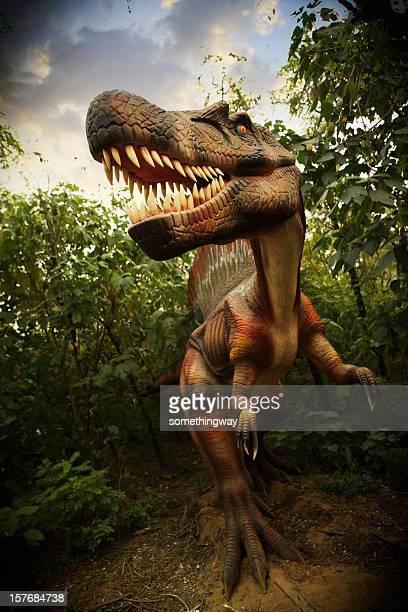 modèle de dinosaur park - dinosaure photos et images de collection