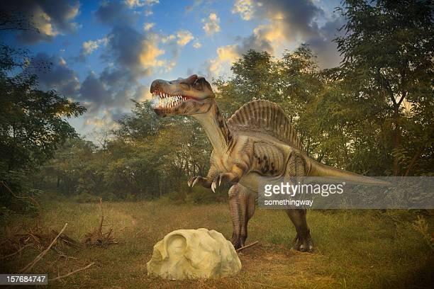 Model of a Dinosaur Park