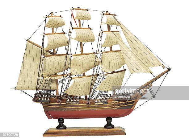 model of a galleon