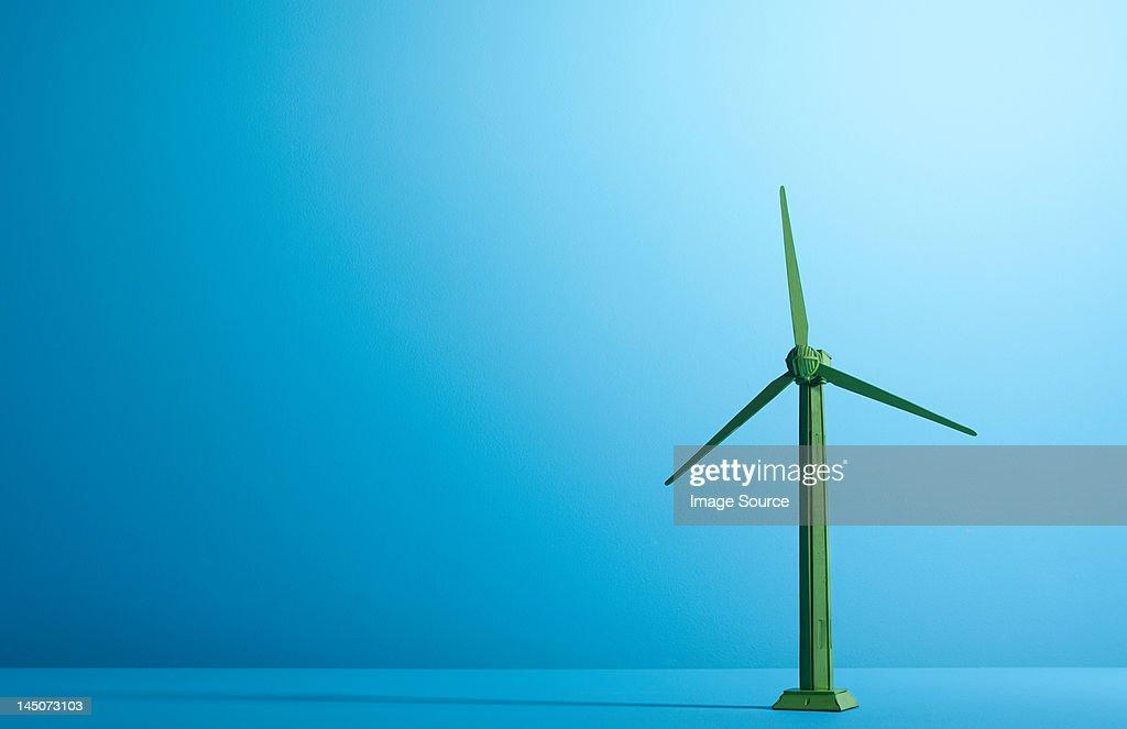 Model of a wind turbine : Stock Photo