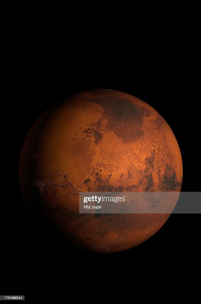 3d model of mars pictures getty images