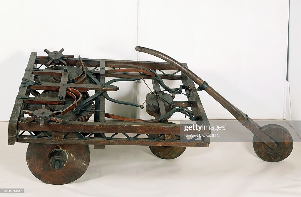 Self Propelled Cart >> Model Of Self Propelled Cart Pictures Getty Images