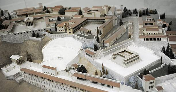 Model of pergamum pictures getty images - Mobeltown berlin ...