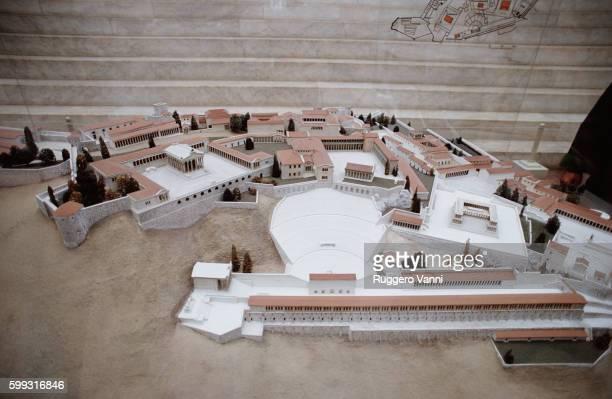 Model of the Pergamon Akropolis