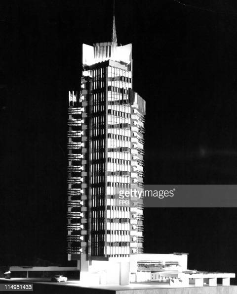 Apartment Price: A Model Of The Price Tower Apartment Building, Designed By