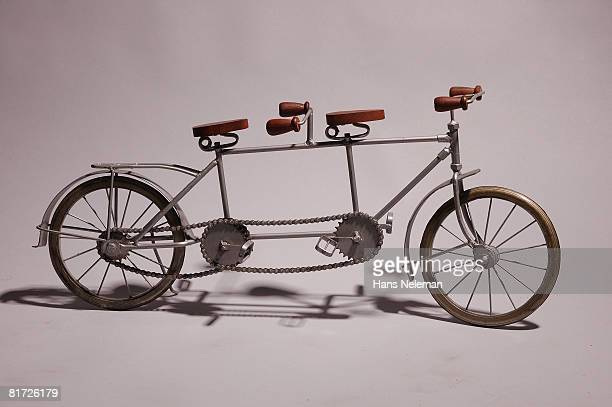 Model of vintage bike
