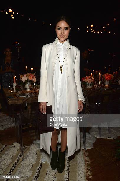 Model Olivia Culpo attends Jessica Alba Humberto Leon and InStyle celebrate Honest Beauty and the launch of the #letsbehonest campaign on November 5...