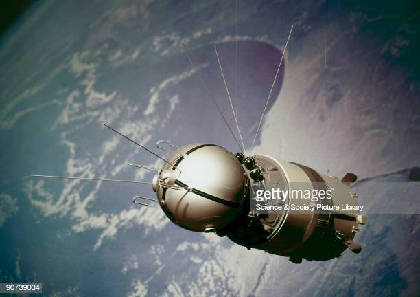 Model On 12 April 1961 Soviet cosmonaut Yuri Alekseyevich Gagarin was launched into orbit by a Vostok rocket and became the first man in space After...