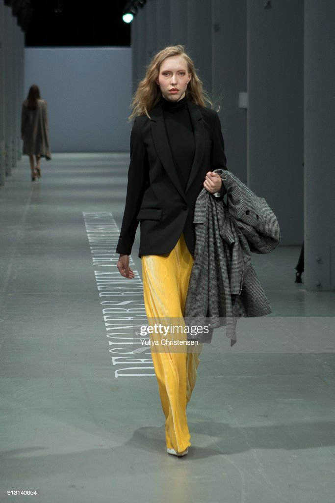 A Model On The Catwalk For Designers Remix During The Copenhagen News Photo Getty Images
