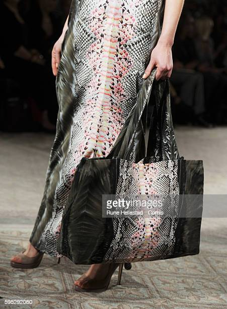 Model on the runway at Maria Grachvogel's Spring/Summer 2012 fashion show at London Fashion Week