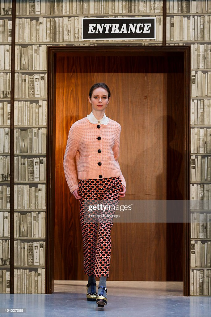 Orla Kiely - Presentation - LFW FW15 : News Photo