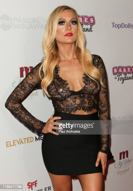 Model Paige Hudson attends the Babes In Toyland Los Angeles Toy Drive at Avalon on December 04, 2019 in Hollywood, California.