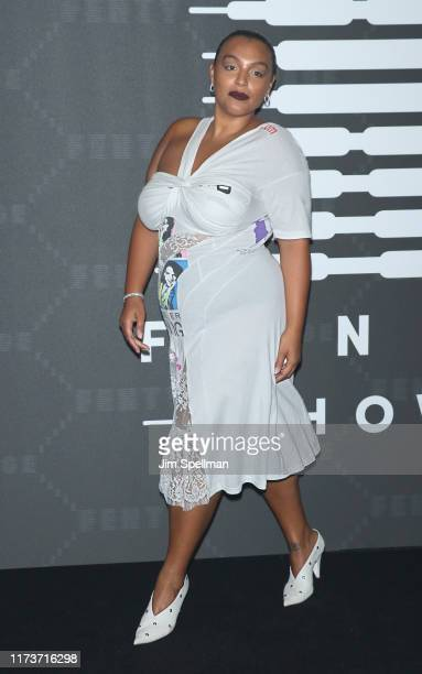 Model Paloma Elsesser attends the Savage x Fenty arrivals during New York Fashion Week at Barclays Center on September 10 2019 in New York City