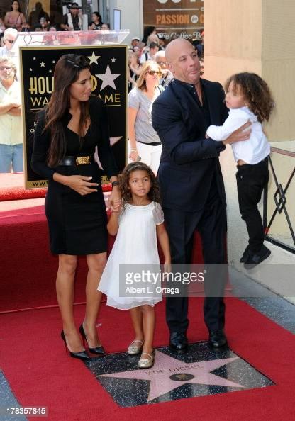 Model Paloma Jimenez, daughter Hania Riley, actor Vin ...