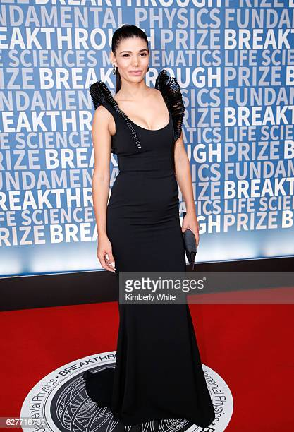 Model Paloma Jiménez attends the 2017 Breakthrough Prize at NASA Ames Research Center on December 4 2016 in Mountain View California