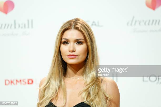 Model Pamela Reif attends the Dreamball 2017 at Westhafen Event Convention Center on September 20 2017 in Berlin Germany