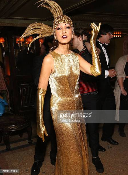 Model Pat Cleveland attends Pat Cleveland Walking With The Muses Book Release Party at The Jane Hotel on June 9 2016 in New York City