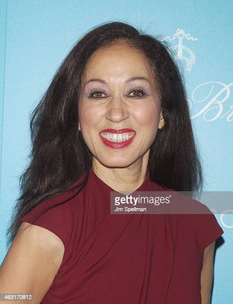 """Model Pat Cleveland attends The Cinema Society and Brooks Brothers host a screening of """"The Rewrite"""" at Landmark's Sunshine Cinema on February 10,..."""