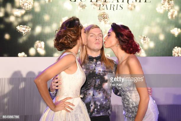 Model Patricia Contreras Christophe Guillarme and miss France 2012 Delphine Wespiser attend the Christophe Guillarme Show as part of the Paris...