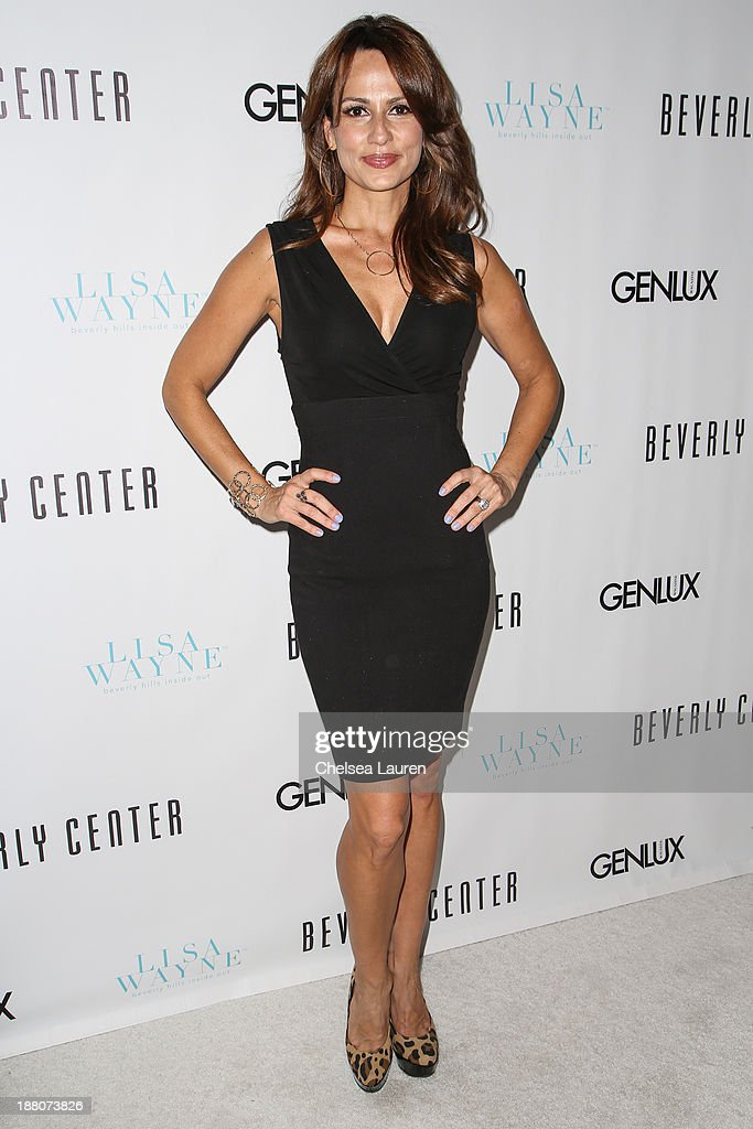 Model Patricia Kara arrives at the Genlux new issue launch party hosted by Lisa Vanderpump on November 14, 2013 in Beverly Hills, California.