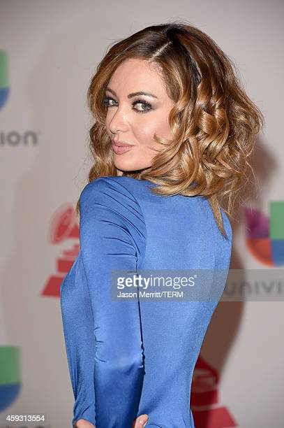 Model Patricia Zavala attends the 15th Annual Latin GRAMMY Awards at the MGM Grand Garden Arena on November 20 2014 in Las Vegas Nevada
