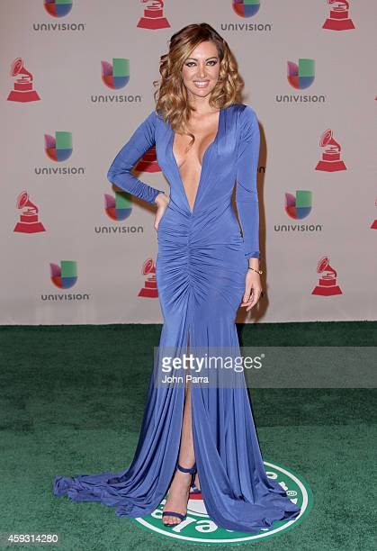 Model Patricia Zavala attends the 15th annual Latin GRAMMY Awards at the MGM Grand Garden Arena on November 20 2014 in Las Vegas Nevada