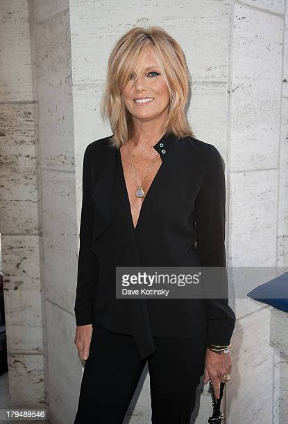 Model Patti Hansen attends 2013 Couture Council Fashion Visionary Awards at David H Koch Theater Lincoln Center on September 4 2013 in New York City