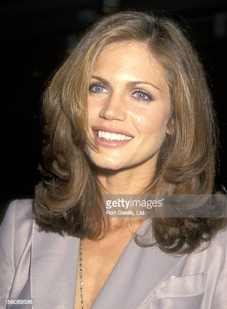 Model Paula Barbieri attends George Makkos of The Makkos Organization of MT Preztle Private Party on November 9 1995 at Wollman Rink Central Park in...