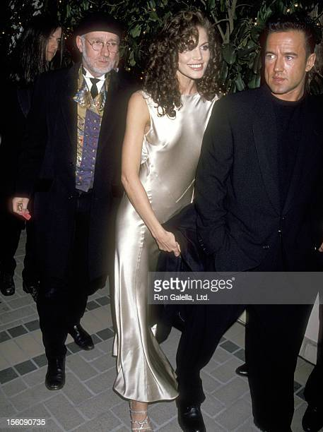 Model Paula Barbieri attends the 37th Annual Grammy Awards After Party Hosted by MCA and Geffen Records on March 1 1995 at The Four Seasons in...