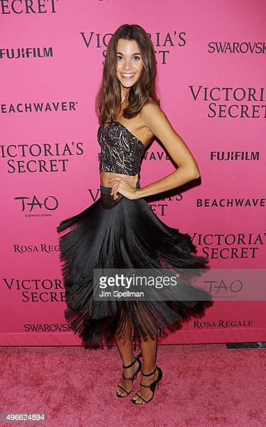Model Pauline Hoarau attends the 2015 Victoria's Secret Fashion Show after party at TAO Downtown on November 10 2015 in New York City