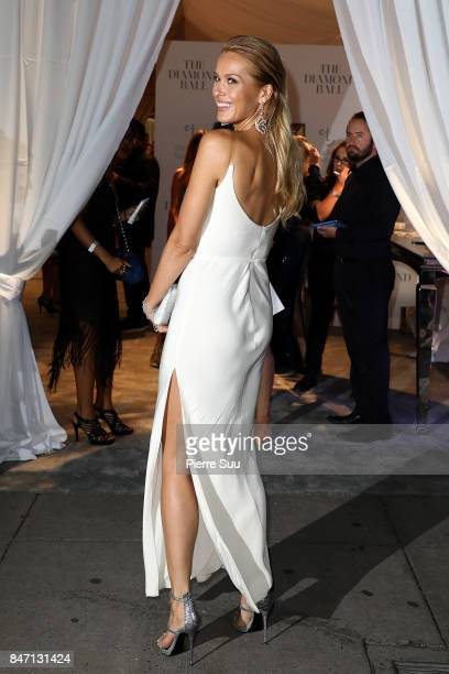 Model Petra Nemcova arrives at the Diamond Ball 2017 hosted by Riahanna at Cipriani on September 14 2017 in New York City