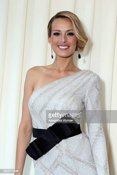 Model Petra Nemcova attends Grey Goose at 21st Annual Elton John AIDS Foundation Academy Awards Viewing Party at West Hollywood Park on February 24...