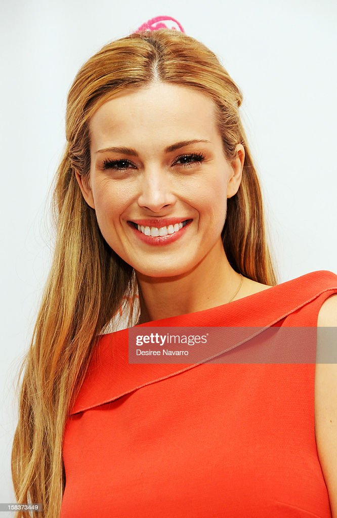 Model Petra Nemcova attends Happy Hearts Fund In Partnership With Clinique Launch Event at Bloomingdale's 59th Street Store on December 14, 2012 in New York City.