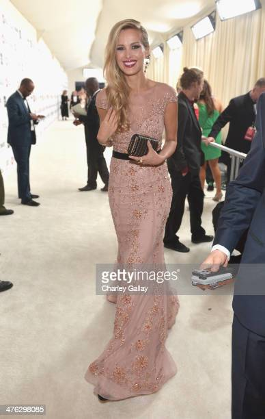Model Petra Nemcova attends Neuro at the 22nd Annual Elton John AIDS Foundation Academy Awards Viewing Party at The City of West Hollywood Park on...