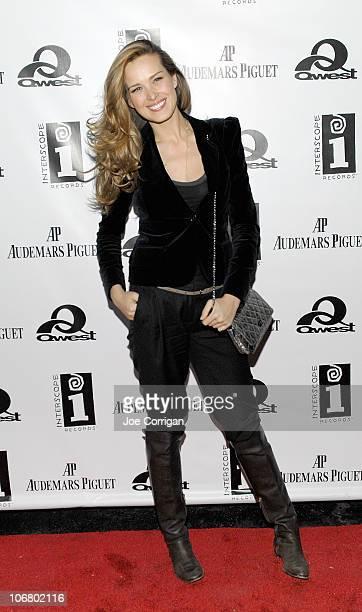 Model Petra Nemcova attends Quincy Jones Q Soul Bossa Nostra Release Party at SL on November 12 2010 in New York City