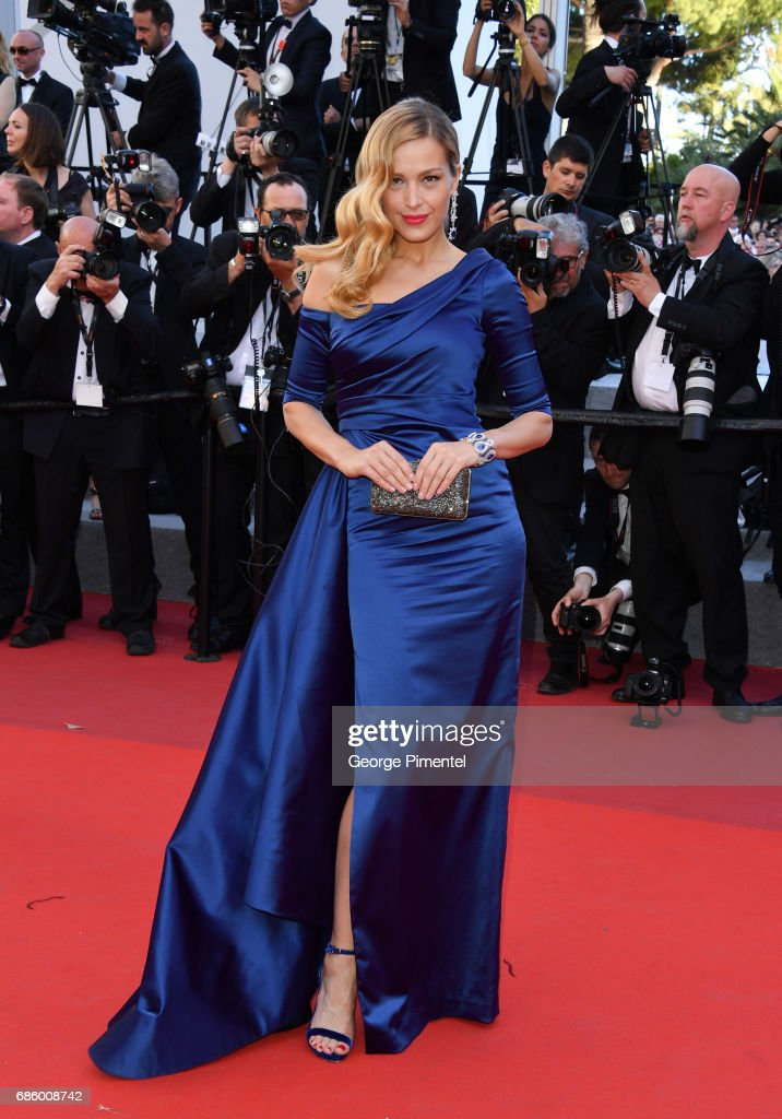 Model Petra Nemcova attends the '120 Beats Per Minute (120 Battements Par Minute)' screening during the 70th annual Cannes Film Festival at Palais des Festivals on May 20, 2017 in Cannes, France.