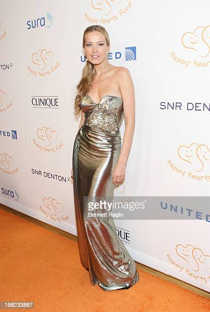 Model Petra Nemcova attends the 2012 Happy Hearts Fund Land Of Dreams Mexico Gala at the Metropolitan Pavilion on December 11 2012 in New York City